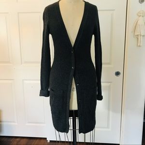Rag and bone wool long cardigan